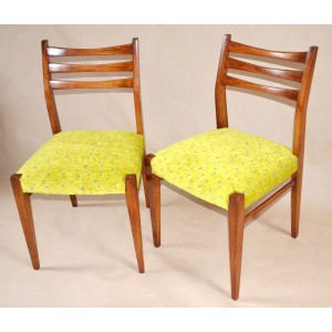 Krzesła danish modern lata 60-te po renowacji