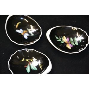 spodek lub talerzyk do miodu ręcznie malowany